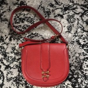 Banana Republic red crossbody